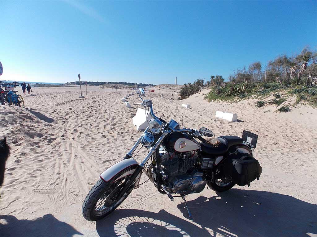Ruta en Harley por Cádiz - Caños de Meca
