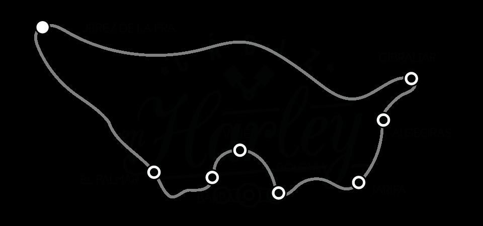 Recorrido ruta por el estrecho