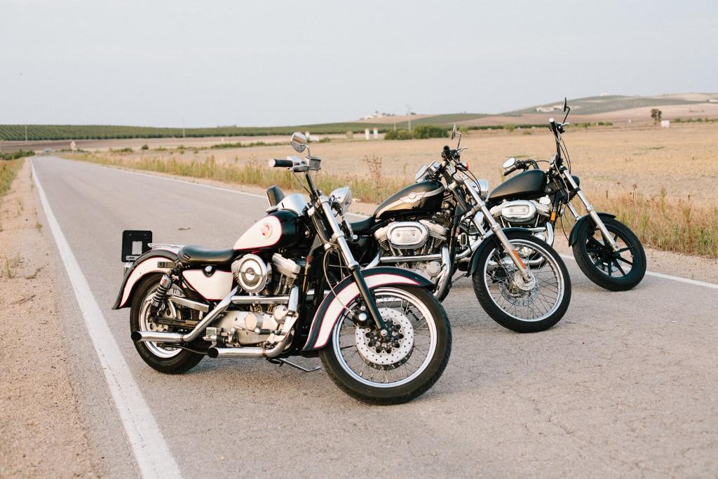 Harleys para recorrer la provincia de Cádiz