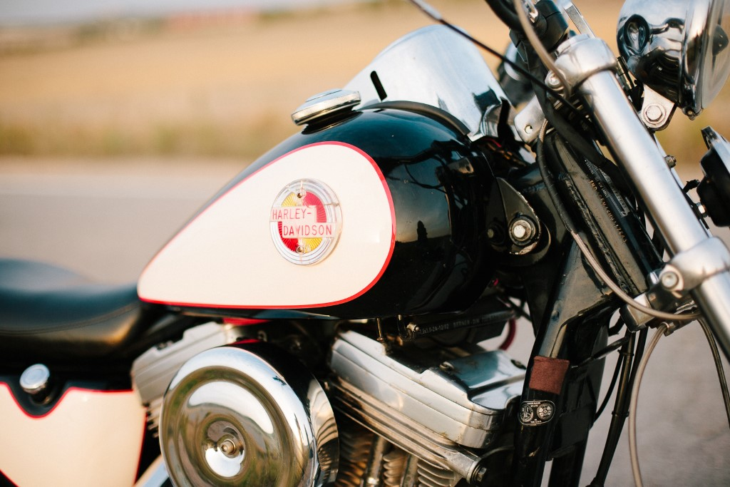 Ruta de la costa de la Luz en Harley