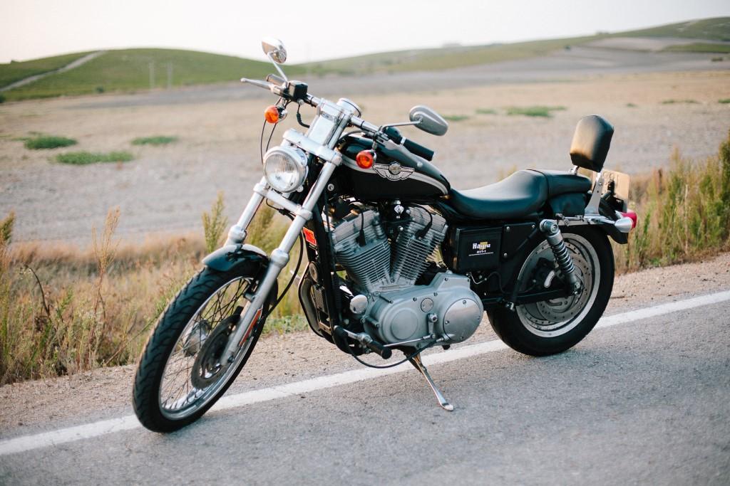 Harley para recorrer las rutas de la provincia de Cádiz