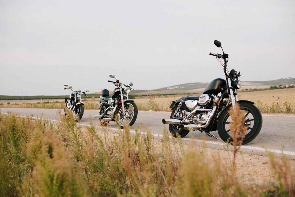 Motos Harleys para alquilar en Cádiz