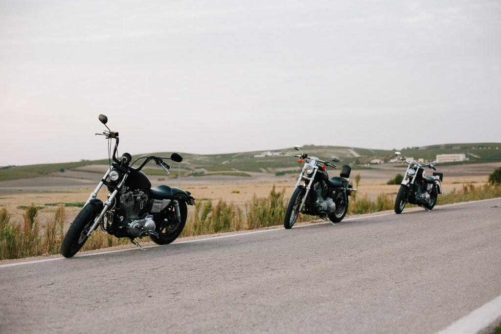 Ruta Harleys en Jerez