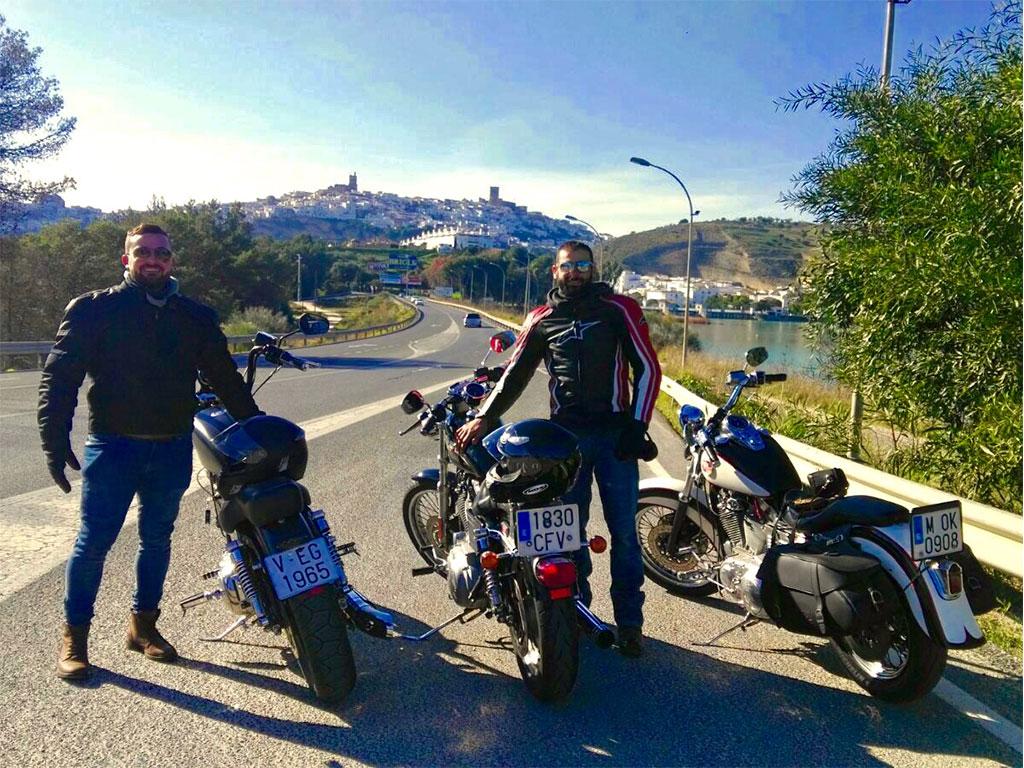 Ruta en Harley para empresas
