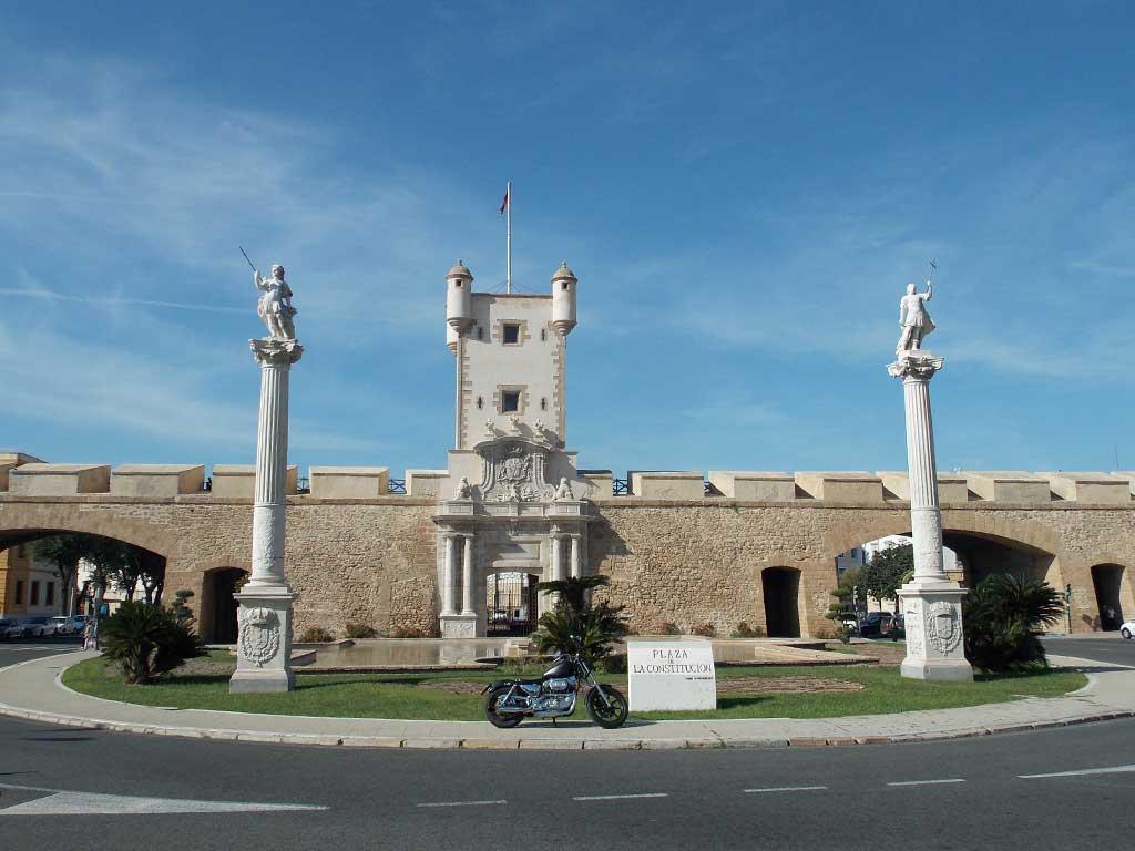 Ruta en Harley por Cádiz