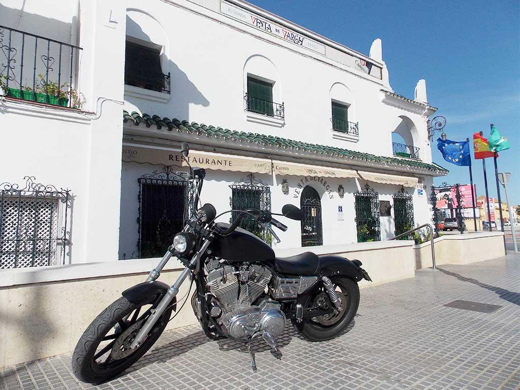 Ruta en Harley por Cádiz - San Fernando