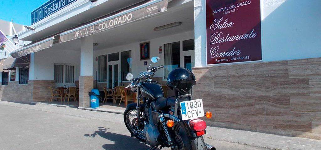 Harley en la Venta El Colorado