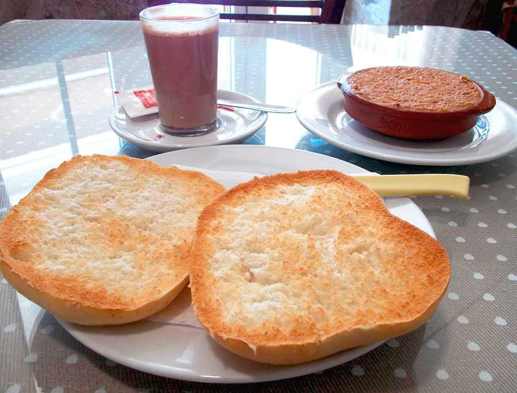 Desayuno Venta El Colorado