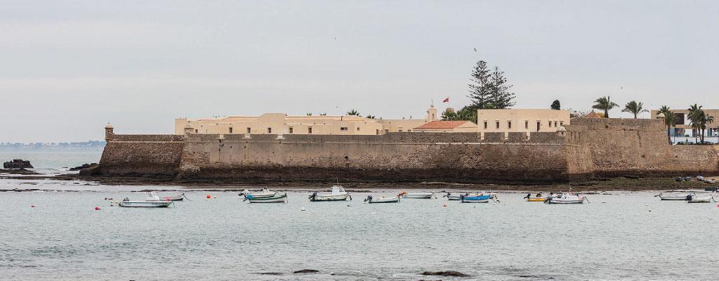 Castillo Santa Catalina en Cádiz