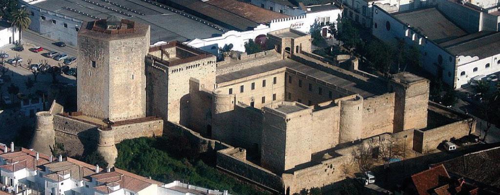 Castillo de Santiago en Sanlúcar