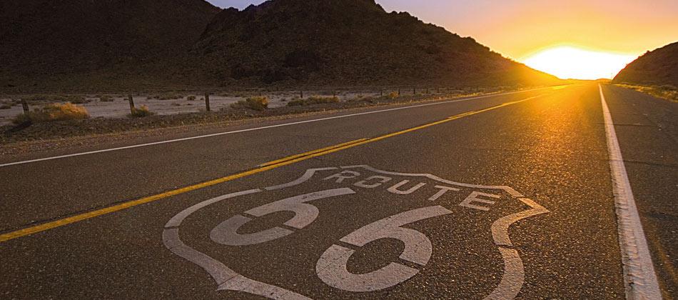 Road trip por la ruta 66 en los Estados Unidos