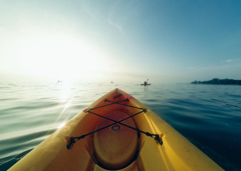 Kayak en Chipiona