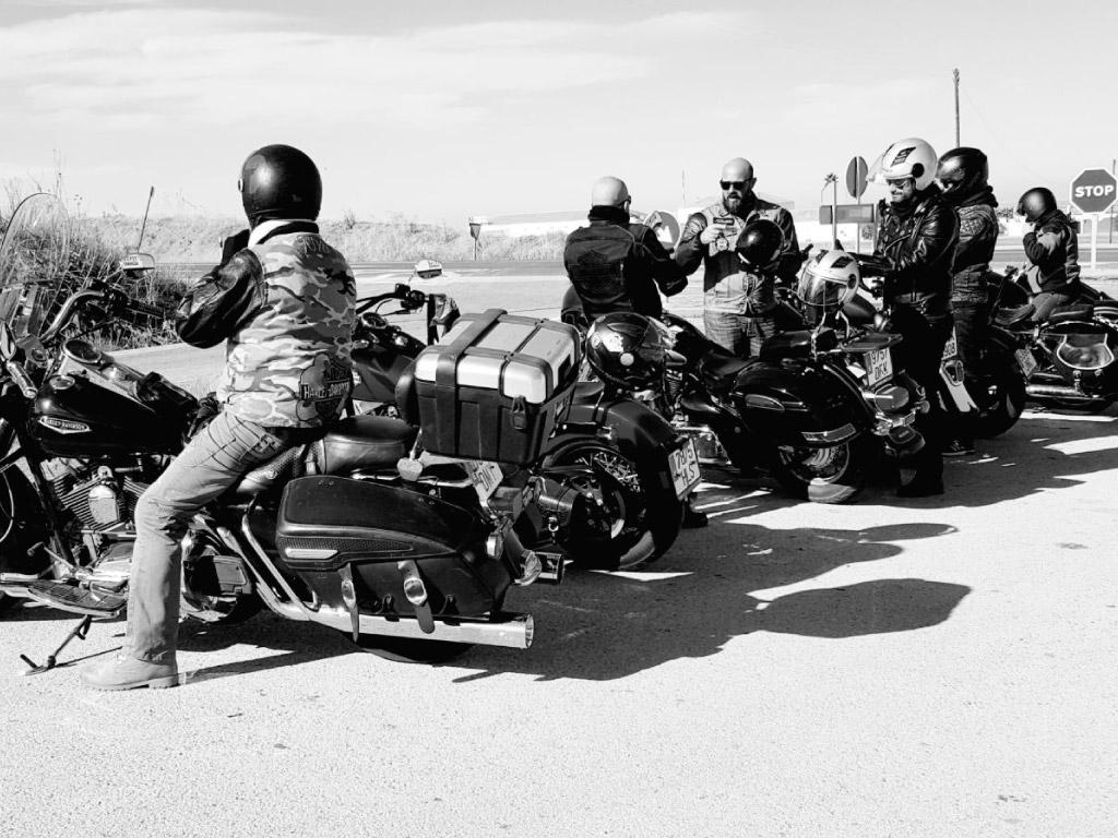 Alquiler de Harley para grupos