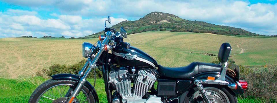 Harley en Zahara de la Sierra