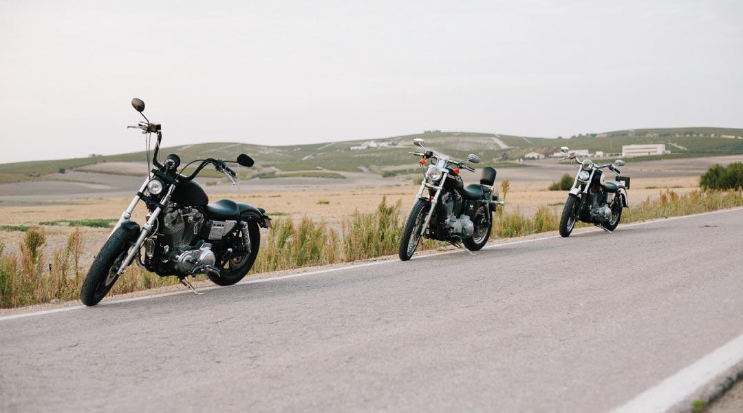 rutas con Harley por Cádiz