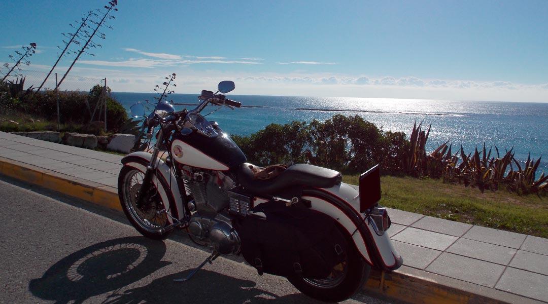 alquiler de Harley Davidson en Puerto Real